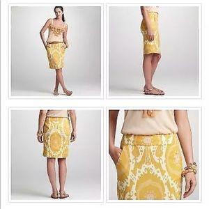 J.Crew Linen Pencil Skirt It